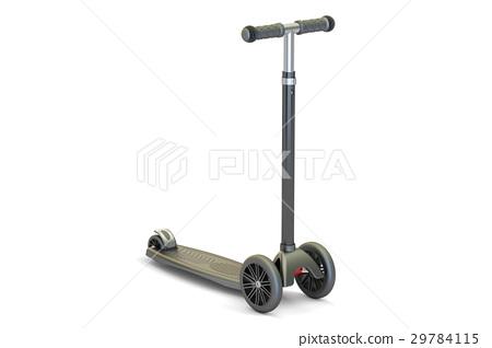 kick scooter, 3D rendering 29784115