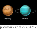 High quality mercury galaxy astronomy uranus 29784717