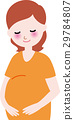 pregnant, woman, maternity 29784807