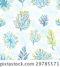 Vector hand drawn wild plants seamless pattern. 29785571