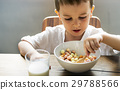 bowl, boy, breakfast 29788566