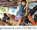 主题公园 游乐园 小女孩 29788735