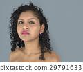 Lady Posing Studio Neutral Focused 29791633