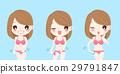 woman with bikini line 29791847