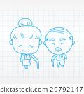 Elderly couple of lover 29792147