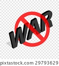 no, sign, war 29793629