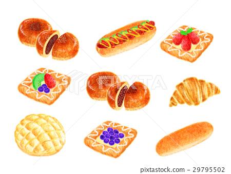 Various bread 29795502