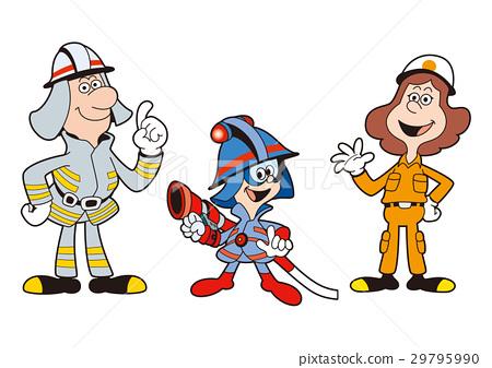 消防员家庭,男孩消防员,救援家庭 29795990