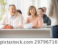接受研讨会的老人和妇女 29796716
