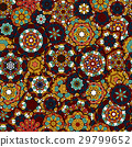 Seamless oriental ornamental pattern. Vector laced 29799652