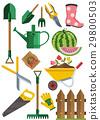 Gardening icons set 29800503