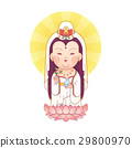 Guanyin Goddess of Mercy  29800970