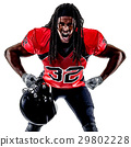 american football player man isolated 29802228