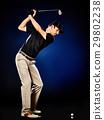 高尔夫 高尔夫球手 男性 29802238