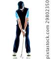 高尔夫 高尔夫球手 男性 29802350