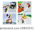 自行車 腳踏車 曲線 29803541