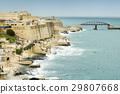 Valletta coastline and Fort St Elmo wall 29807668