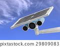 Surveillance Camera with Solar Power  29809083