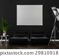 dark, interior, background 29810918