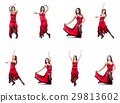 Female dancer dancing spanish dances 29813602