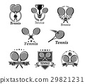 tennis vector ball 29821231