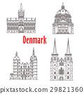 Architecture Denmark landmark vector buildings 29821360