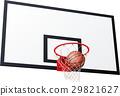 矢量 籃球 球 29821627