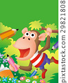 ลิงกับดินสอและโน้ตตัวละครชิมแปนซี 29821808