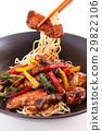 Stir-fried noodles 29822106