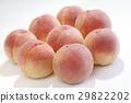 桃子 水蜜桃 桃 29822202