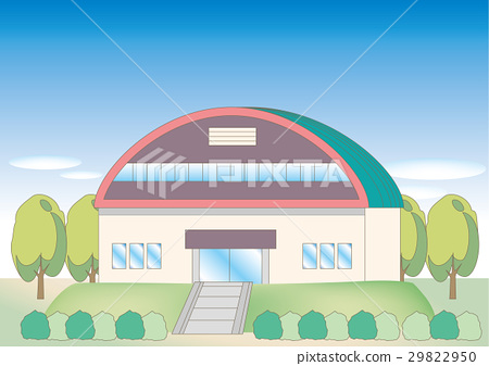 Scenery of gymnasium 29822950
