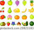 fruit, fruits, set 29823183