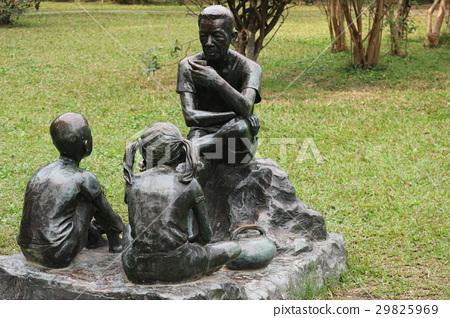 台北國父紀念館的藝術人像 29825969