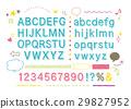 字體 字符 人物 29827952