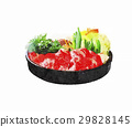Illustration of sukiyaki 29828145