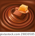 background, chocolate, caramel 29830585