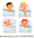 bath, child, small 29834802