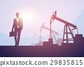 oil, vector, rig 29835815