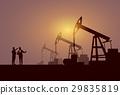 oil, vector, rig 29835819