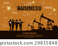 oil, vector, pumpjack 29835848