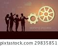 business, silhouette, team 29835851