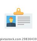 identification, id, card 29836439