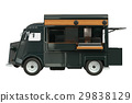 Food truck eatery, side view 29838129