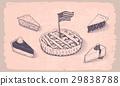 american, pie, vector 29838788