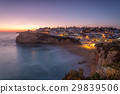 Seascape of Carvoeiro at night in the lights. 29839506