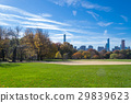 Great lawn located in the heart of Central Park  29839623