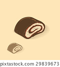 chocolate jelly roll 29839673
