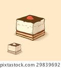 strawberry cake 29839692