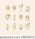 ice cream icon set 29839913