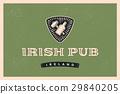 label irish pub 29840205